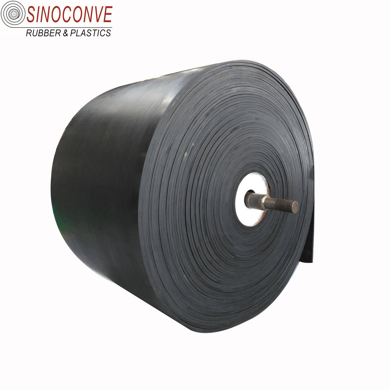 EP300 EP500/4 EP400/3 4 fabric ply nylon Flat Rubber conveyer belt for stone crusher