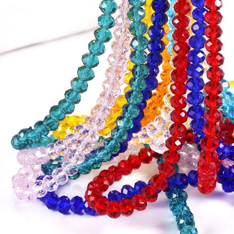 Crystal Beads Manufacturers DIY Accessories Charm Glass Beads 4/6/8/10mm For Jewelry Making Bracelet