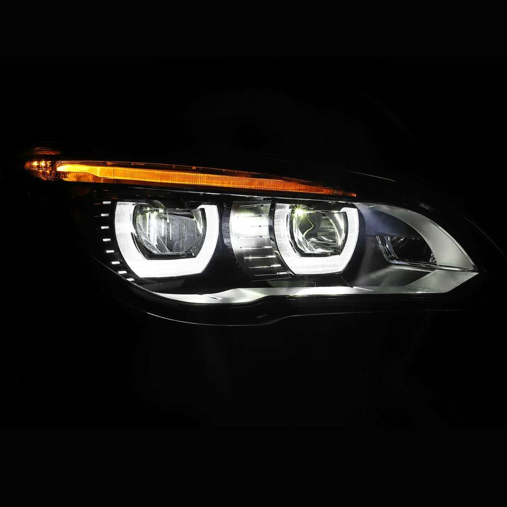 For BMW 1 Series F20 2010-2016 High Main Beam H7 Xenon Headlight Bulbs Pair Lamp