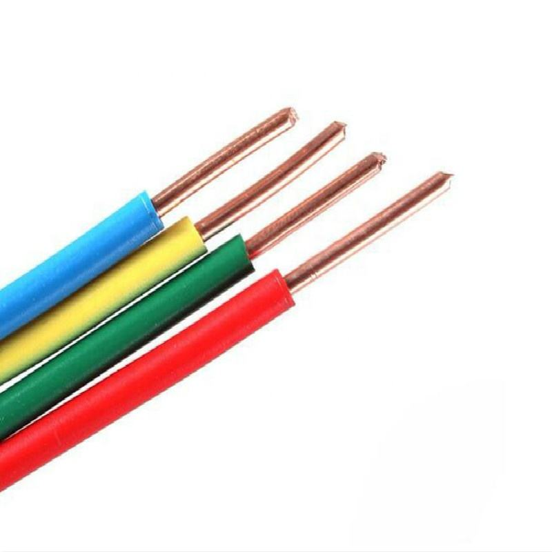 1.5mm 2.5mm 4mm 6mm PVC Insulated Solid Core Copper Electrical Cable Wire
