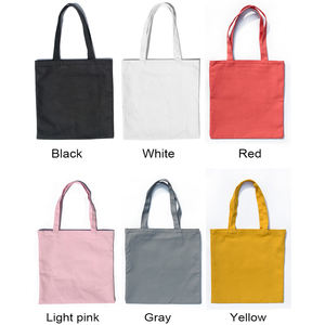 Wholesale Natural Cotton Designed Tote Bag For Women Shopping