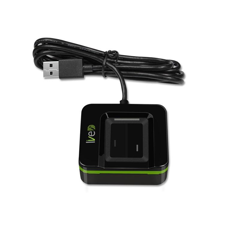 Lector de huellas digitales biométrico USB en 20R SLK20R Linux Android Windows