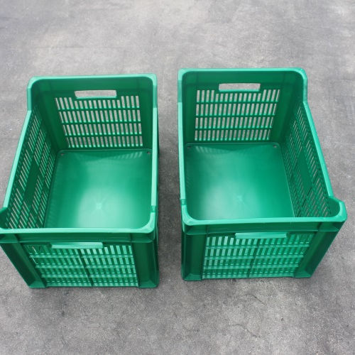 Finished product of injection molding machine Plastic crate