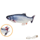 Toy Fish Tickles The Cat's Beating Fish Cat Pet Toy USB Charging Electric Simulation Fish