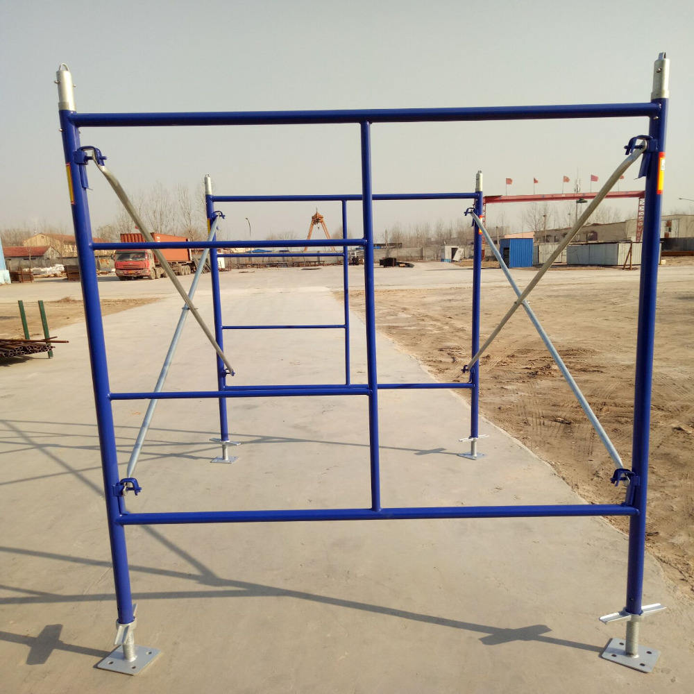 Tianjin factory OEM accept Heavy Duty Steel Scaffolding Shoring Props/tubular steel frame scaffolding , china factory