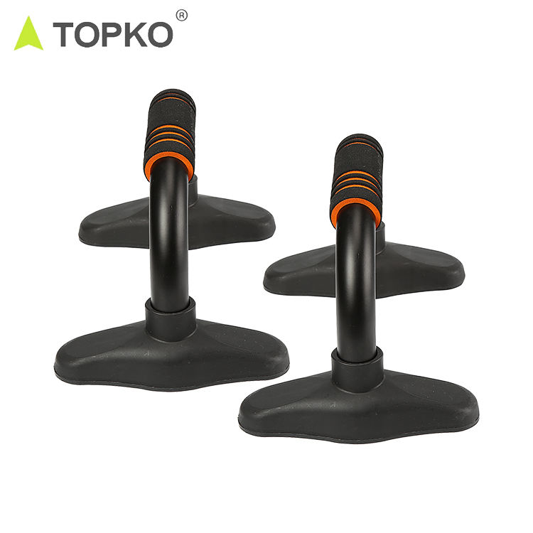 TOPKO fitness exercise stand rotating workout push up bars sets