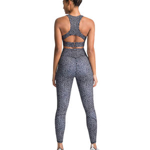 Vrouwen Droge Fit Pro Compressie Gym Workout Fitness Oefening Workout Sportkleding Set