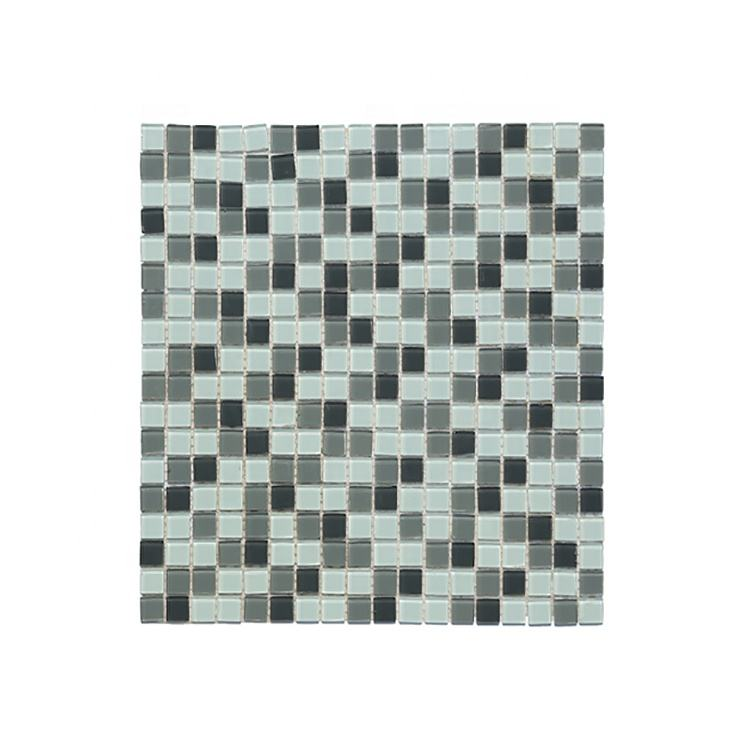Moonight New Design Square Pool Glass Tile Interior Wall Online Technical Support 295*295mm Glossy 0.9kg