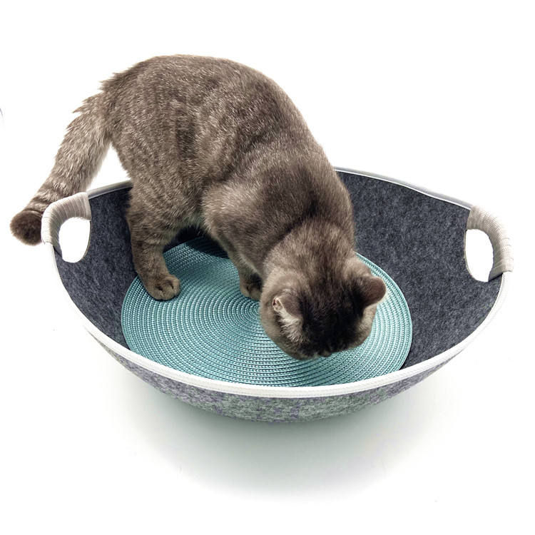 Factory direct wholesale pet bed cave pets cave nest cat ottoman stool snoozer cosy cave pet sleep bed
