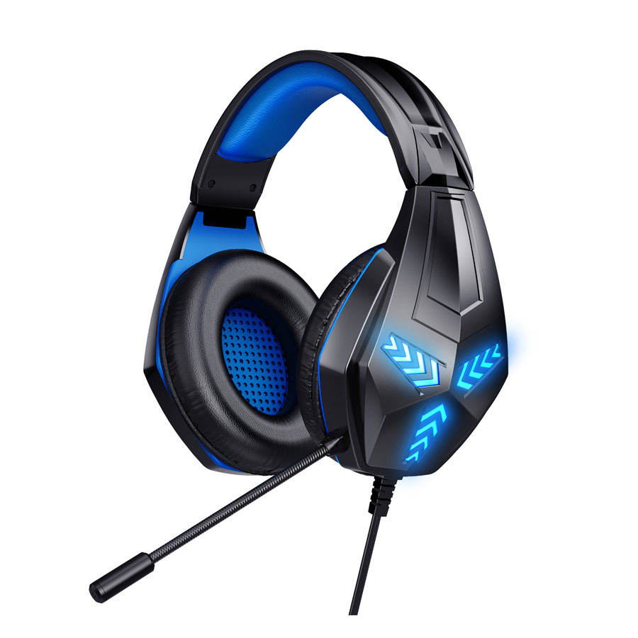 KOMC <span class=keywords><strong>G2000</strong></span> Stereo Sound <span class=keywords><strong>Qualität</strong></span> Über-ohr Licht PS4 Gaming Headset
