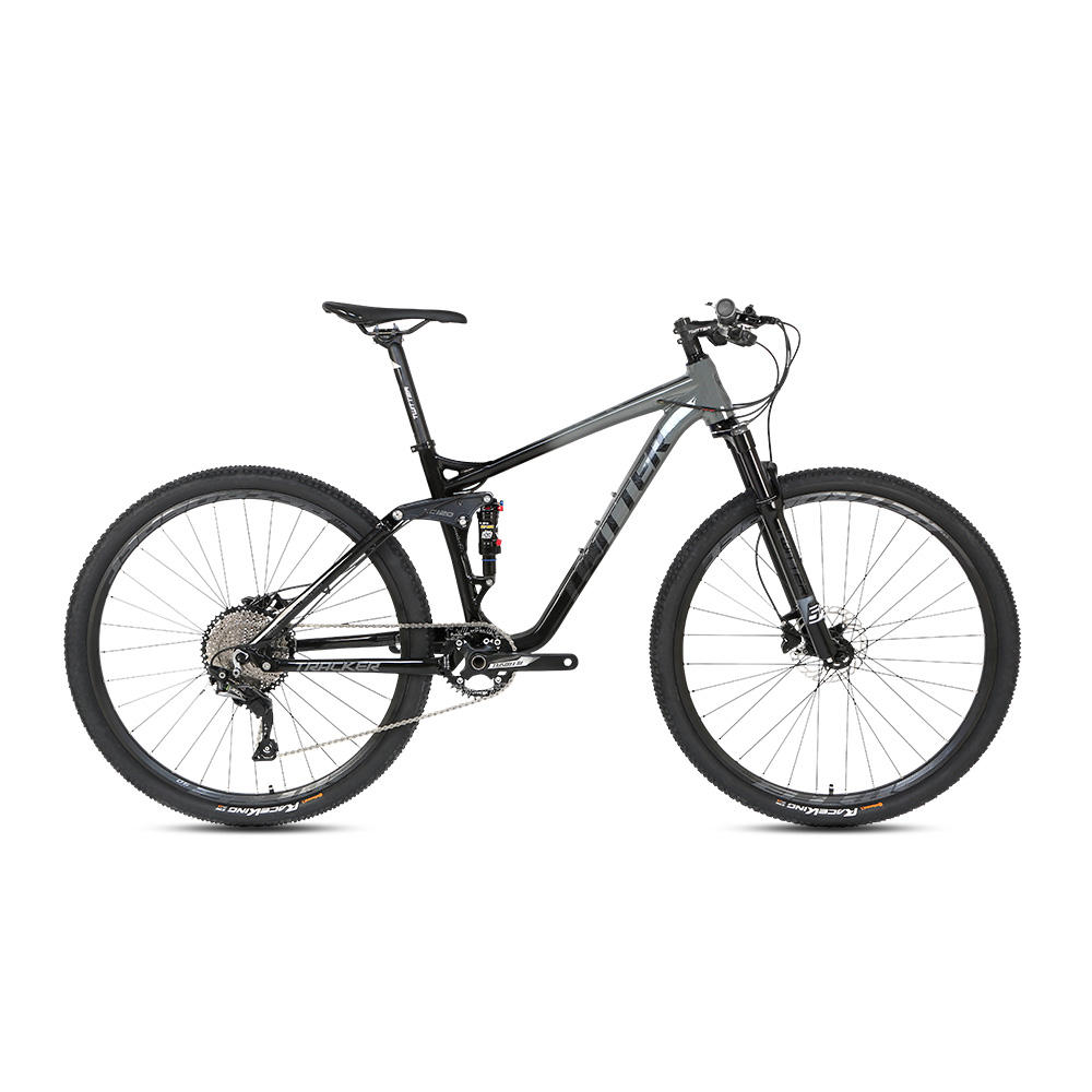 27.5 29er aluminum frame cheap full suspension mountain bike
