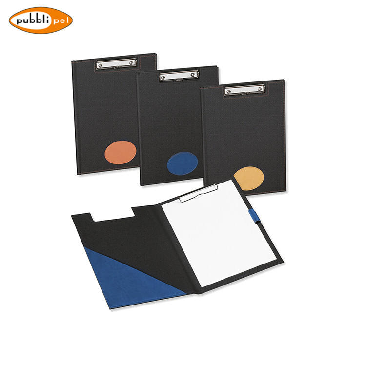 Gift Promotion Office Use Custom PU Leather Portfolio Folder