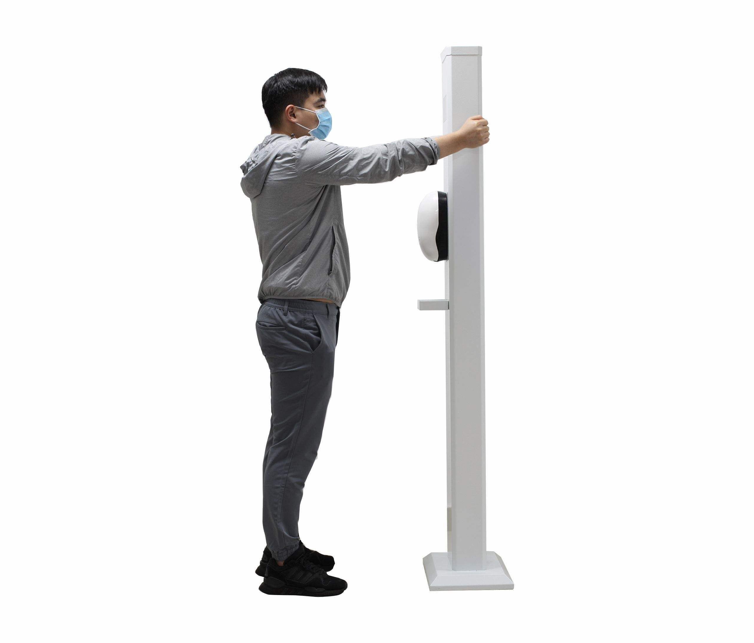 Dick measuring device body scanner