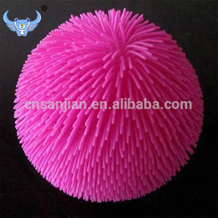 Vente chaude pupper rose grand solide koosh ball