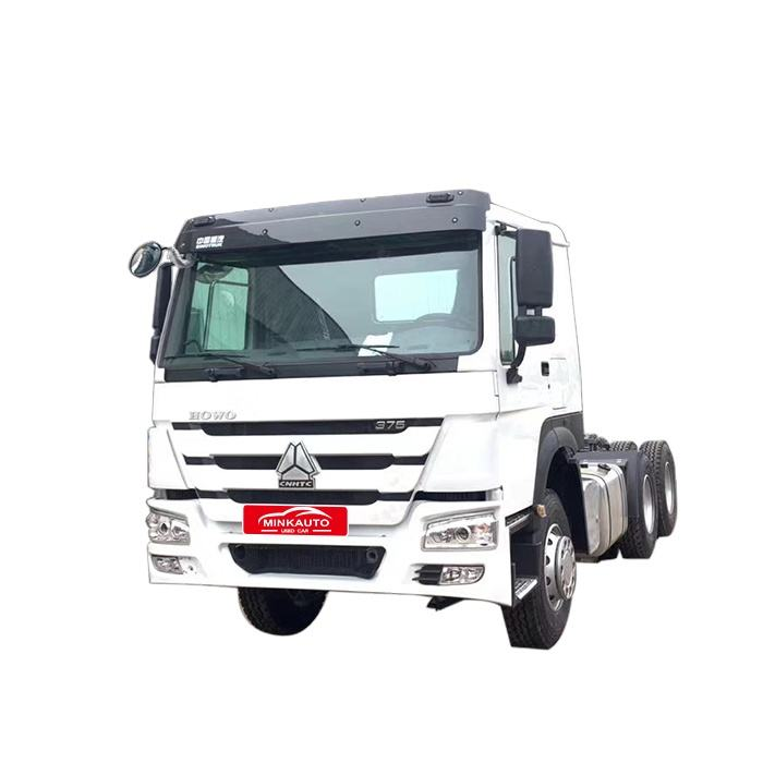 car second hand Howo 6x4 380 HP howo truck for africa
