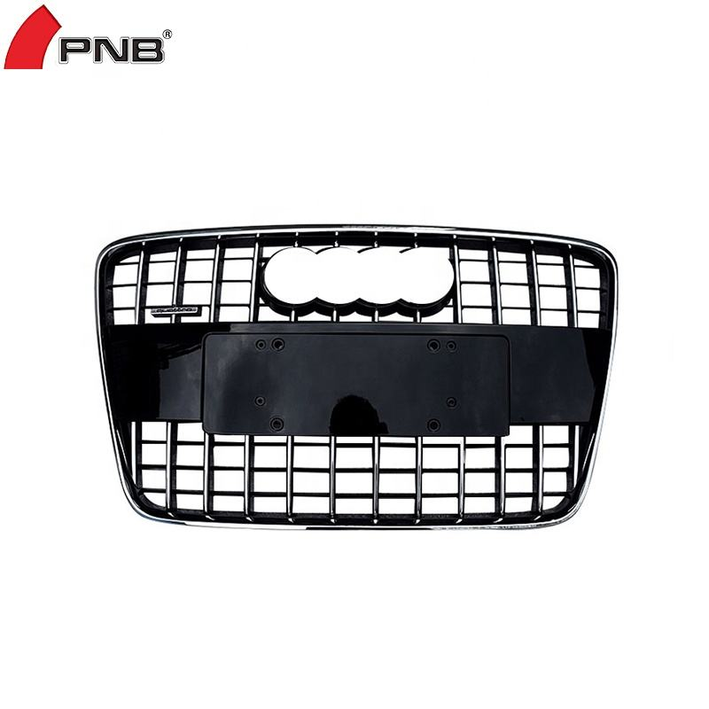 Genuine AUDI Q3 2012-2014 Front Bumper Fog Outer Grilles Satin Black LEFT+RIGHT