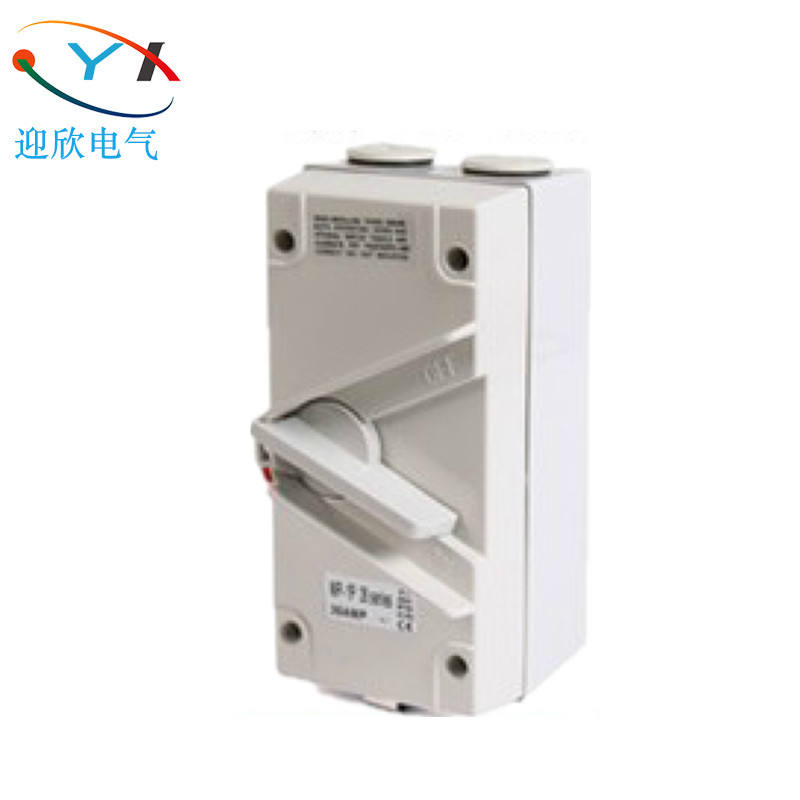Baru IP66 Industri Outdoor Type Disconnector DC Isolator Single Phase Switch