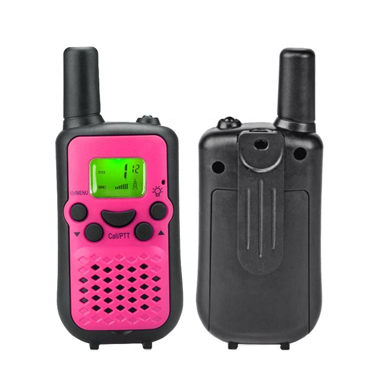 0.5W Kids Toy 8-22 Channel Walkie Talkie Digital Two Way Radio For