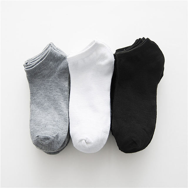 Fashion design Cheap price Men's polyester spandex ankle socks sport socks