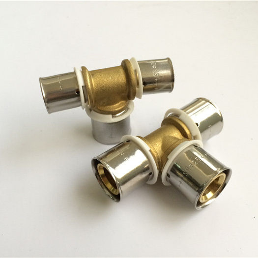 20years experience supplier press fittings for Pex pipe press union Elbow Tee Valve body