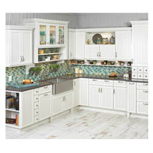 2020 new style white shaker wholesale modern design modular kitchen
