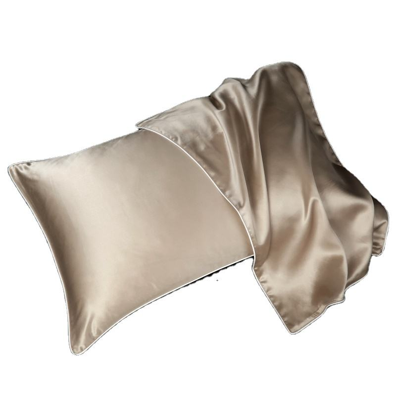 Luxury Standard Size 19mm 100%Mulberry Silk Pillow Case For Hair