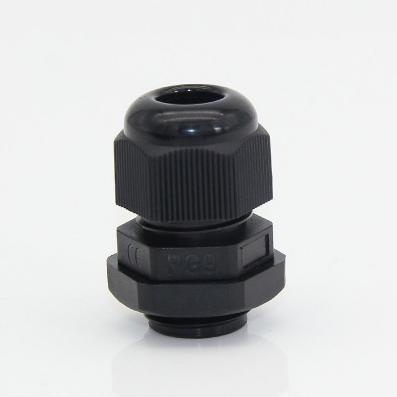 JX wholesale IP68 waterproof pg9 nylon cable gland