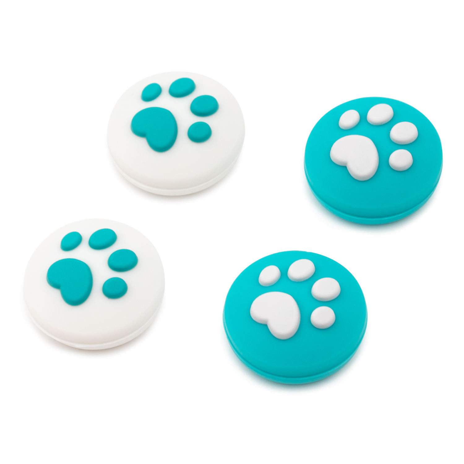 Geekshare Free Sample Cat Paw switch 3D Thumb Grip For Nintendo Switch Joycon Controller Thumbstick Cover Joystick