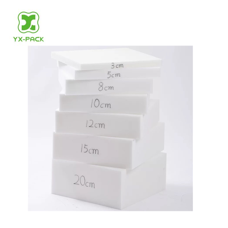 1.5m*2mx0.3m size 36kg/m3 density 80 hardness white PU FOAM sponge for sofa /tatami