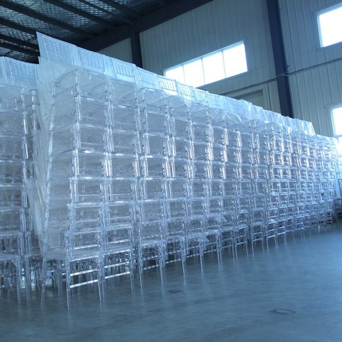 Wholesale Plastic Clear Chiavari Chairs for Boutique Bistro