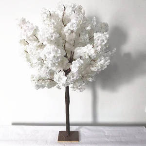Kunstmatige Wedding Flower Cherry Blossom Boom Voor Bruiloft Middelpunt Decor