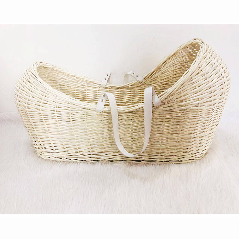 Baby Bassinet Moses Basket African Moses Basket Eco-friendly Crib Wooden