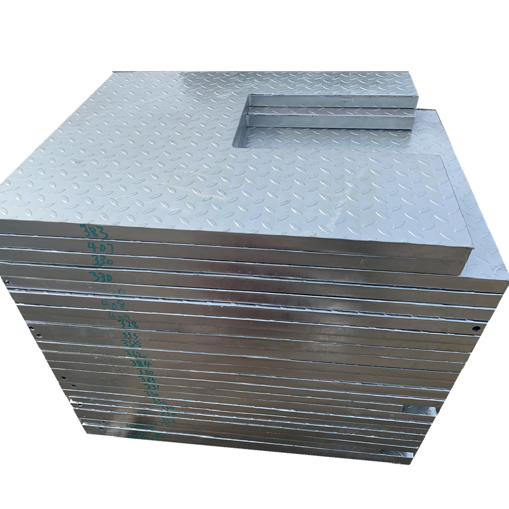 HDG serrated steel grating compound steel bar gratings for building metal material