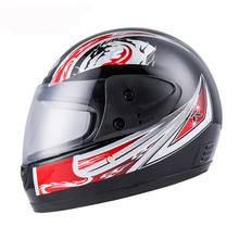 BYB Universal helmet full face motorcycle With Neck Protection Anti-fog Breathable helmets motorcycle Motocross