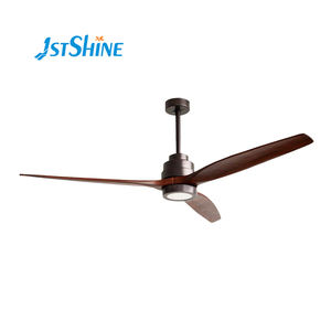 Europe style 60inch smotor for ceiling fan home decorative DC ceiling fan with LED light