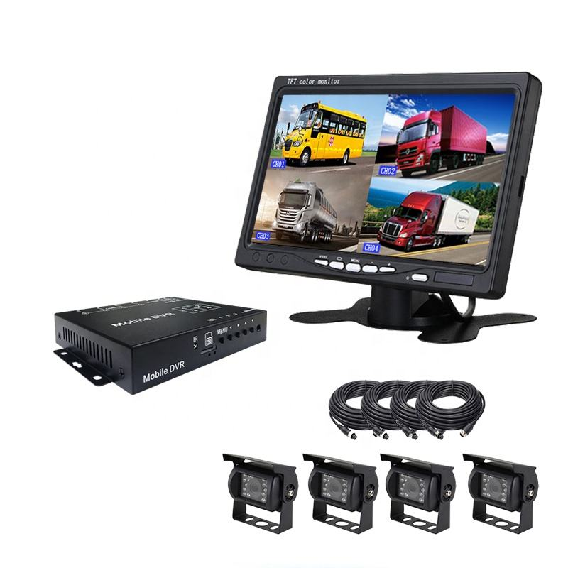1080P mini 8CH school busSDD/HDD mobile dvr with 3G/4G/WIFI/GPS car mdvr tracking technology