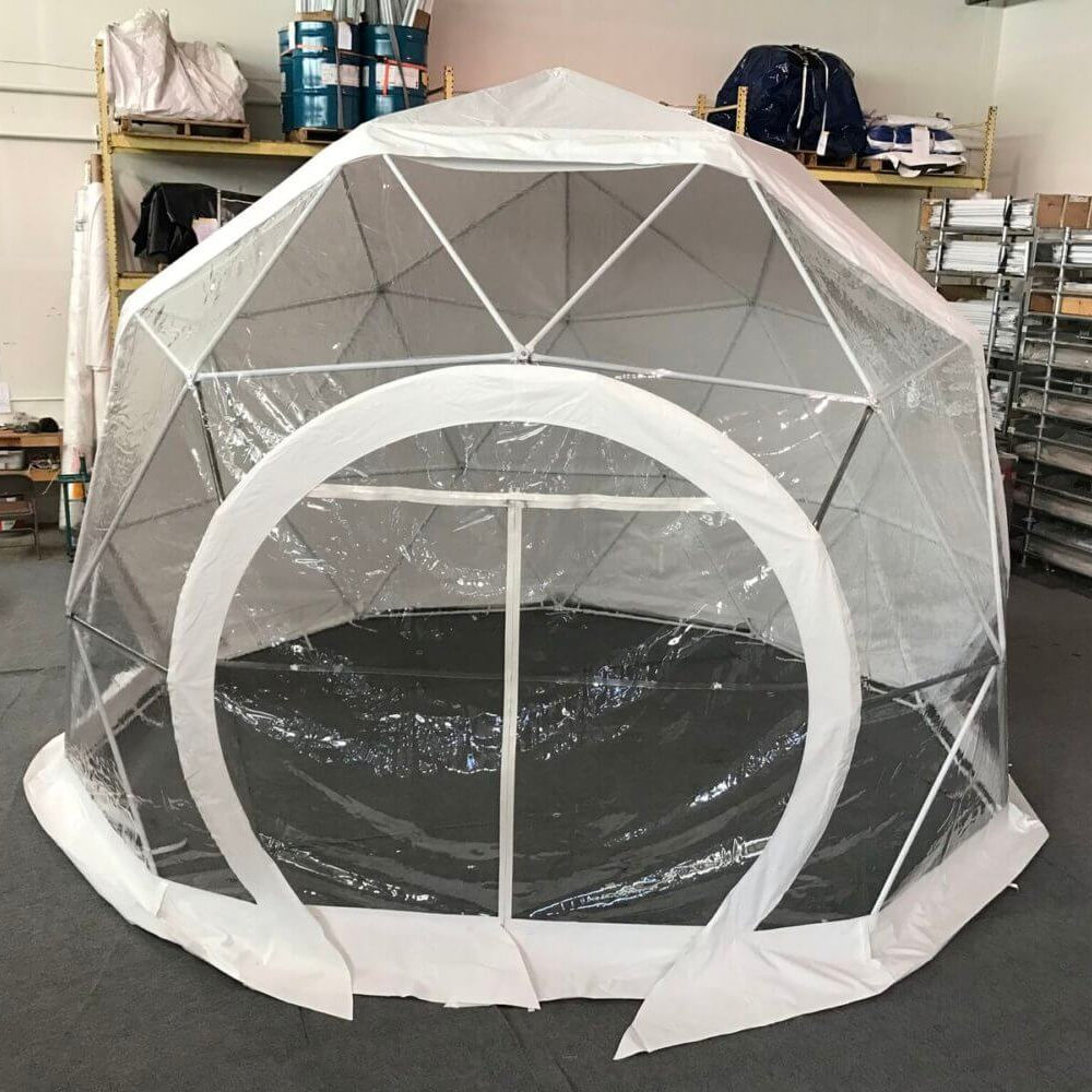 3m diameter Geodesic Transparent Dome Tent Eco Sphere Dome For Event