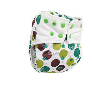 High Quality Double Pockets Diaper Waterproof Nappies With Various Patterns Best Reusable Cloth Diapers