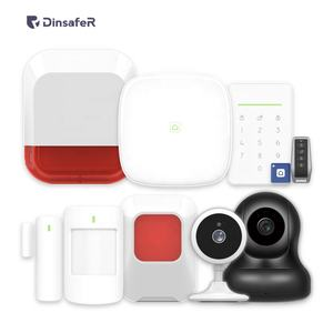 residential alarm systems kit manufacturer with 1000m coverage