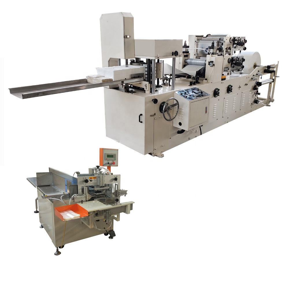 Napkin tissue machine production line price