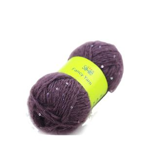 suzhou huicai wholesale china top 10 best selling quality mohair sequins yarn used to weave sweaters, scarves or hats