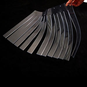 Klar weiche starke flexible transparent pvc blatt flexible kunststoff film