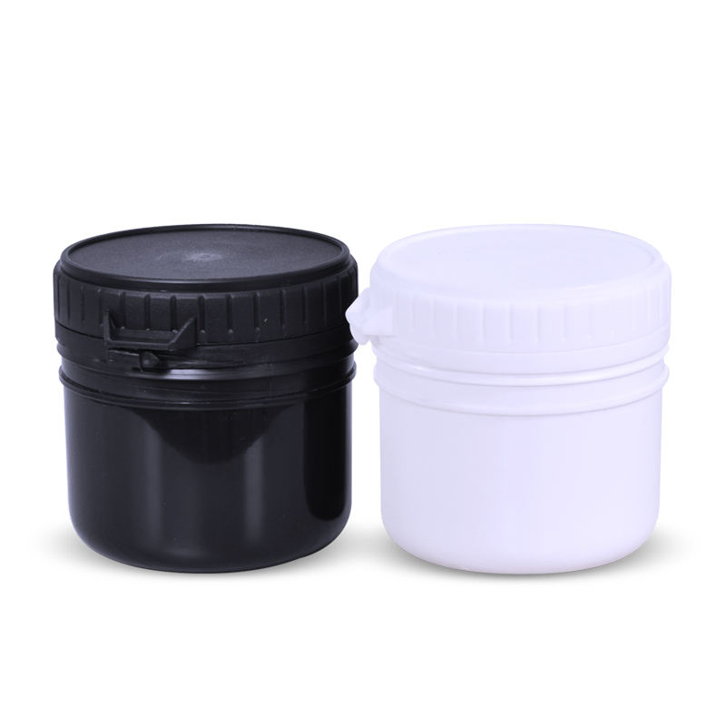 UMETASS 200ml HDPE Plastic Jar For Storage Medicine Tablet Pill Powder Protein Powder Container