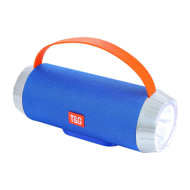 Portable Handle SpeakerTG501 Audio Flashlight Speaker Water Resistant Outdoor Speaker Aux TF USB Mobile Phone Speaker