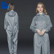 Type 5 Type 6  anti-static SMS breathable  coverall with hood for dust-free workshop ESD clothes Unisex
