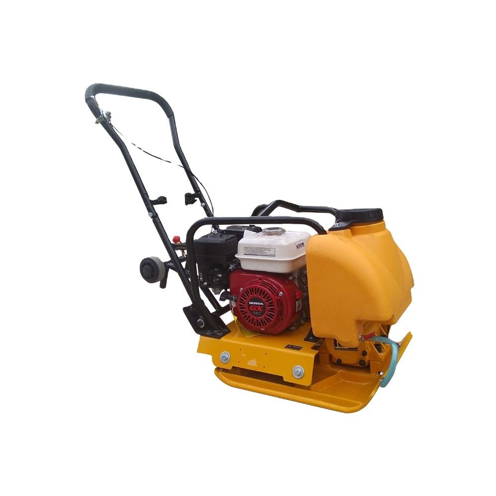 90 kg Hand-held one-way vibrating plate compactor with built-in water tank to compact asphalt for sale STP90