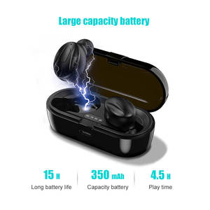 2020 new wireless earphones BT 5.0 tws mini bluetooth earphones headphones mini bluetooth earbuds with charging box