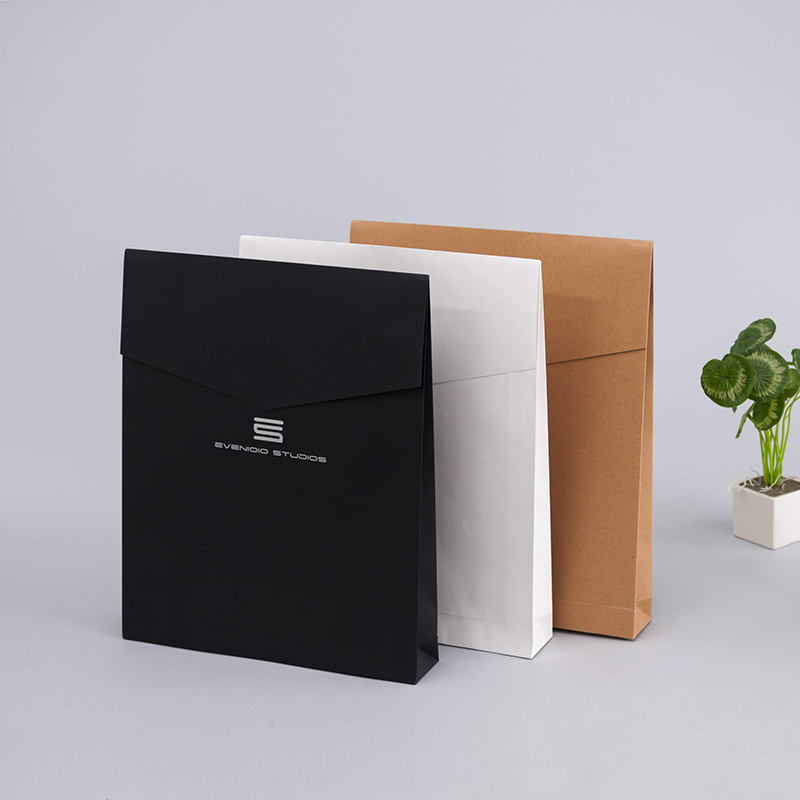 Envelope gift pack closure custom express file holder document storage bag