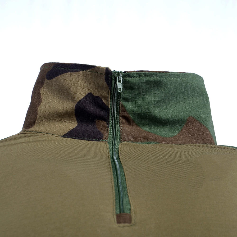 Packaging Customization [ Camouflage Shirt ] Camouflage Shirts CS Tactical Camouflage Shirt Combat Shirt Men Army Multicam Military Uniform Short T Shirt