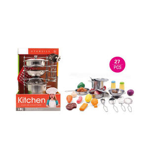 Stainless Steel Kitchen Set Toy Stainless Steel Kitchen Set Toy Suppliers And Manufacturers At Alibaba Com